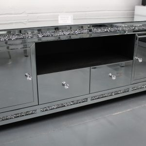 diamond crush tv cabinet