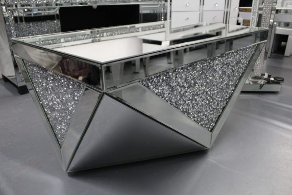 diamond crush coffee table