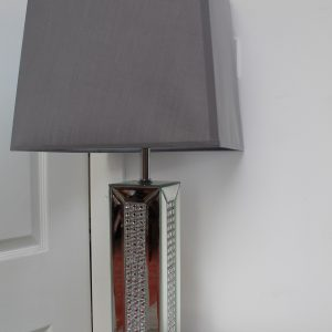 Crystal Mirrored Lamp