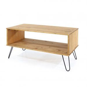 Augusta waxed pine coffee table