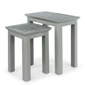 Perth Nest of tables - Stone top