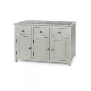 Perth 3 door + 3 drawer Sideboard - Stone top