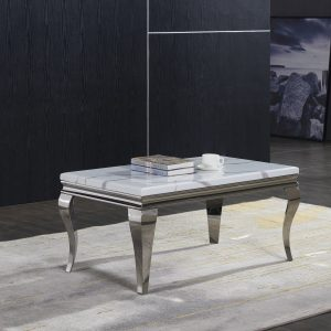 Florence Cream Marble Coffee Table