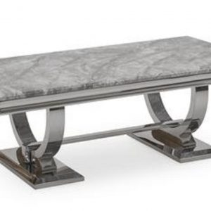 Chelsea Grey Marble Dining Table (2m)