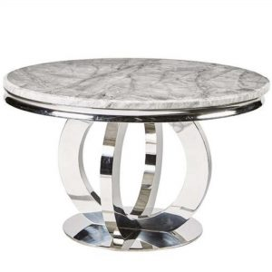 Chelsea Round Marble Table